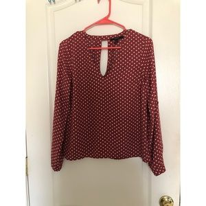 Forever 21 long sleeve blouse. Size small